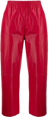 Pinko High Rise Cropped Trousers