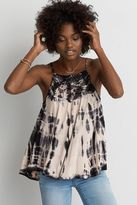 American Eagle Outfitters AE Tie-Dye Hi-Neck Tank