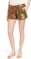 KUT from the Kloth Women's Zaria Print Linen Shorts