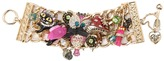 Betsey Johnson Enchanted Forest Wide Toggle Bracelet (Multi) - Jewelry