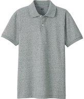 Uniqlo Men's Dry Pique Short Sleeve Polo Shirt