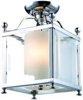 Filament Design Lawrence 3-Light Chrome Candelabra Ceiling Flushmount