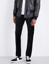 Paige Lennox slim-fit tapered mid-rise velvet jeans