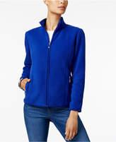 Karen Scott Zeroproof Fleece Jacket, Only at Macy's