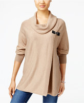 JM Collection Buckle Sweater, Only at Macy's