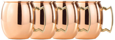 Old Dutch Mini Moscow Mule Set Of 4