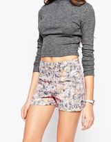 Asos Madam Rage Printed Shorts