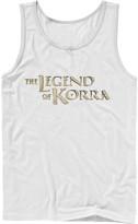 Nickelodeon Men's Legend of Korra Golden Stone Logo Tank Top