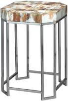 Jamie Young Faux Horn Small Octave Side Table