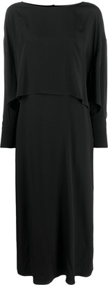 Erika Cavallini Layered-Look Maxi Dress