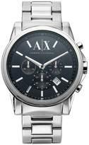 Armani Exchange Black Face Bracelet Mens Watch