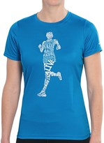 Brooks Happy Runner T-Shirt - Short Sleeve (For Women)