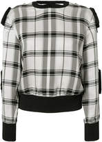 3.1 Phillip Lim Plaid sleeve-tie top