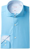 Isaac Mizrahi End on End Slim Fit Dress Shirt