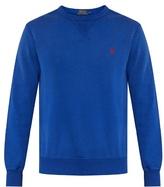 Polo Ralph Lauren Crew-neck Cotton-blend Sweatshirt