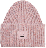 Acne Studios Pansy wool beanie hat