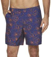 Marc Anthony Men's Slim-Fit Floral Swim Shorts