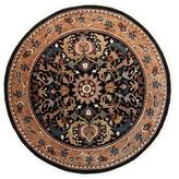 F.J. Kashanian Walton Hand-Woven Wool Round Rug
