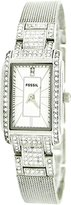Fossil Women's ES2911 Stainless-Steel Analog Quartz Watch with White Dial