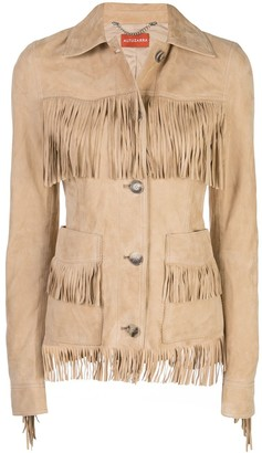 Altuzarra Fringed Fitted Jacket