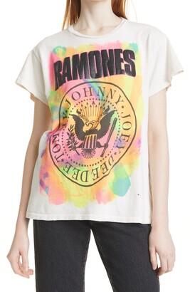 MadeWorn Women's Ramones Graphic Tee