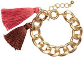 H&M Bracelet with Tassels - Gold-colored - Ladies