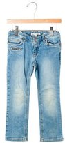 Bonpoint Girls' Straight-Leg Jeans