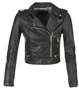 Oakwood YOKO women's Leather jacket in Black