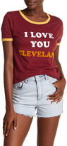 Junk Food Clothing Cleveland Cavaliers Graphic Tee