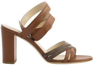 Fabiana Filippi Lucia Leather Sandals