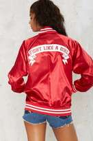Factory Stay Cute Fight Like a Girl Bomber Jacket