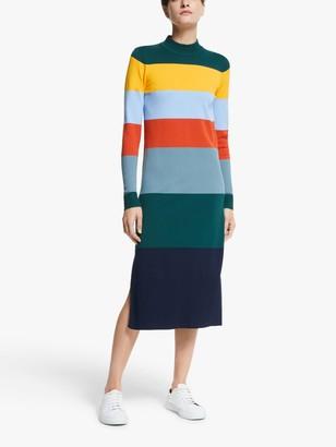 Nümph Accalia Long Sleeve Knitted Dress, Multi