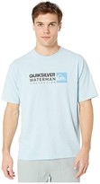 Quiksilver Waterman Return To Forever T-Shirt (Cerulean Heather) Men's Clothing