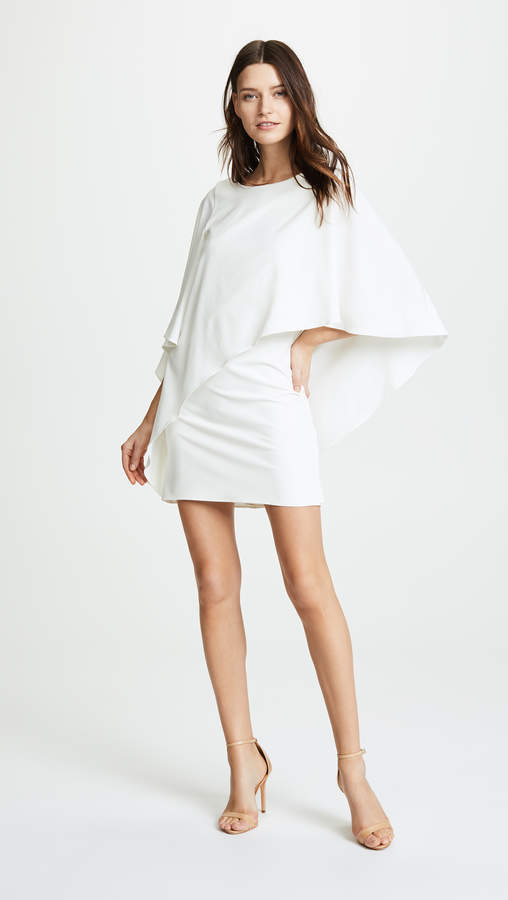 Halston Draped Dress