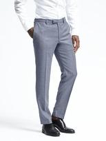 Banana Republic Slim Light Blue Wool Suit Trouser