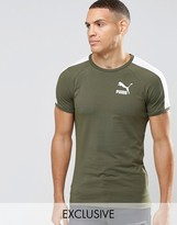 Puma Retro T-Shirt in Muscle Fit Exclusive To ASOS