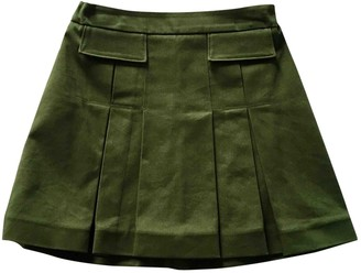 Marni Green Cotton Skirts