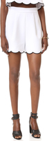 KENDALL + KYLIE Scallop Shorts