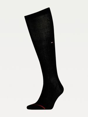 Tommy Hilfiger Mercerised Cotton Blend Knee Length Socks