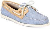 Sperry Men's A/O 2-Eye Linen Boat Shoes