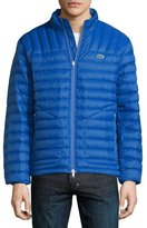 Lacoste Lightweight Quilted Down Jacket, Blue