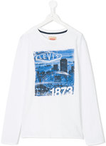 Levi's Kids - graphic print T-shirt - kids - Cotton - 14 yrs
