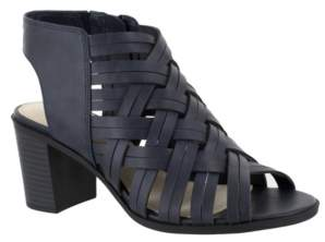 Easy Street Shoes Angel Block Heeled Sandals Women's Shoes