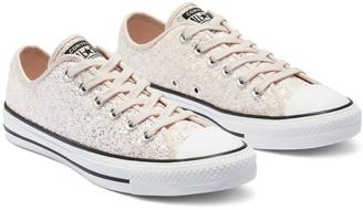 Converse Chuck Taylor All Star Glitter Ox - Rose Gold