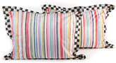 Mackenzie Childs MacKenzie-Childs Standard Chelsea Stripe Shams, Set of 2