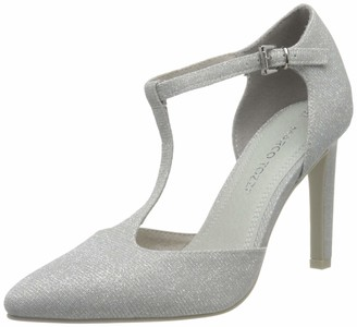 Marco Tozzi Women's 2-2-24414-24 T-Bar Heels