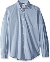 Dockers Slim Refined Poplin Long Sleeve Button Front Woven Shirt