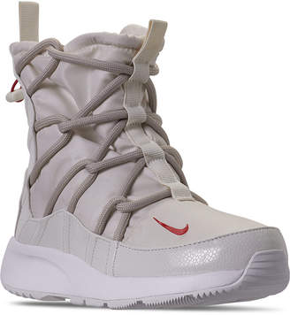 Nike Women Tanjun High Rise High Top Sneaker Boots from Finish Line