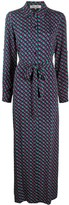 Diane von Furstenberg geometric print shirt dress