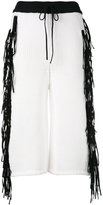 Joseph fringe trim culottes - women - Cotton/Polyamide - XS
